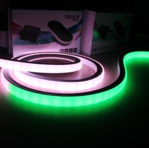 China Top View Silicon ip68 waterproof dream color flex strip 24V 60 pixel dmx rgb led neon flex square on sale
