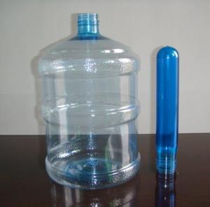 China OEM produto comestível da pré-forma de 5 galões, GV da pré-forma da garrafa do animal de estimação 700g/FDA on sale