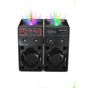 China 120 Watt Portable Disco Light Bluetooth Speaker Active PA System For Stage Performance on sale