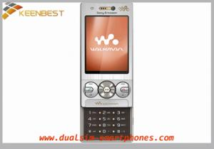 China 2G Network Cell Phones Sony Ericsson W705 on sale