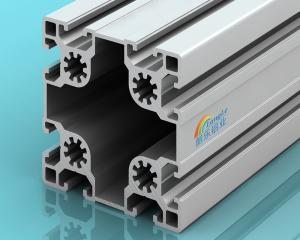 China Structural Aluminum Extrusion Profiles Fractional 90 Series 6.63 Kilogram / M on sale