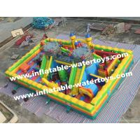 China CE Certificated 0.55mm PVC Tarpaulin (Plato) Giant Inflatable Amusement Park for Sale on sale