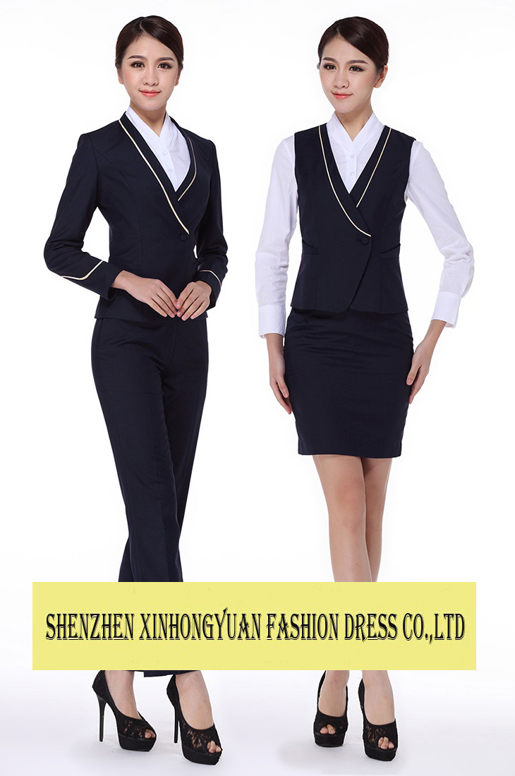 Airline Hostess Uniforms Pilot And Flight Attendant