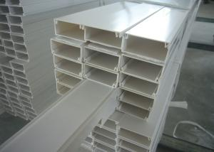 China White Grey PVC Electrical Cable Tray Lvd For Wiring Wire Duct on sale