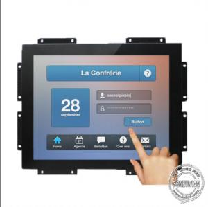 China Digital 21.5'' Open Frame LCD Display Sensitive Touch Monitor For Shipping Container on sale