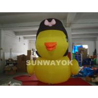 Giant Inflatable Model/Inflatable Advertising Yellow Cartoon Characters /Inflatable Cow Duck