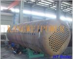 Water Tube Fuel Industrial Steam Boilers Horizontal Style 30T - 50T OEM