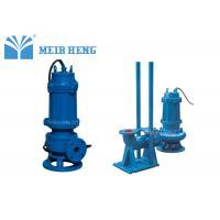 Non - Clogging Submersible Sewage Pump / Electric Centrifugal Fluid Transfer Pump