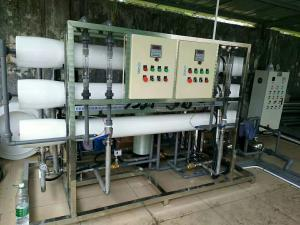 China 1000L/H Industrial Drinking Water Filter , Mineral Water Purifier Machine Balanced Pressure on sale