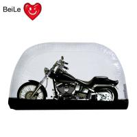 China Folding bubble transparent PVC inflatable motorcycle tent cover on sale