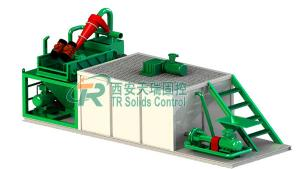 China 50μm Separation Point Bored Pile Drilling Mud System Well Drilling Mud Disposal Use on sale