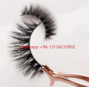 China 3d mink luxury lashes ; lilly lashes ; mykonos ,miami lilly lashes ; clear band mink lashes on sale