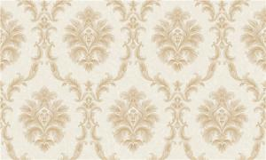 China Italy Style Pvc Deep Embossed Wallpaper Waterproof With Damask Design on sale