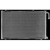 PEUGEOT Auto Air Conditioning Condenser , Custom Aluminum Alloy