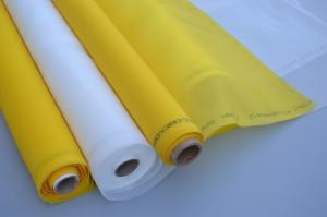 China High Tension White Polyester Silk Screen Printing Mesh 250 280 Mesh Monofilament on sale