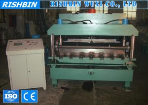 China Galvanized Steel Arch Roof Panel Roll Forming Machine with 13 m / min Working Speed on sale