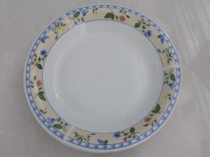 China Ceramic Plate with Full Color Decal Printing,Customized Designs Accepted,Meets FDA,LFGB on sale