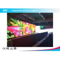 China 1000 Nits Brightness Indoor LED Display Board 2K Super Clear Paper Thin Video Wall on sale