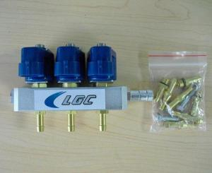 China LPG/CNG 3cyl Rail Injector for sequential injection system on sale