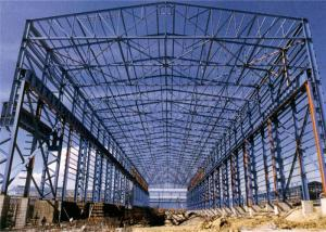 Quality Metal Frame Steel Building With 8.0 Grade Workshop Earthquake Resistant for sale