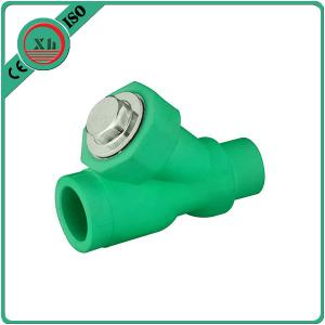 China Eco Friendly Water Filter Pipe Fittings , Durable PPR Straight Ball Valve on sale