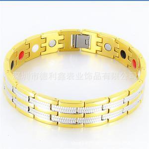 China La energía de la ión negativo de las pulseras del oro de Rose para aliviar la radiación anti de la pulsera magnética de la salud del cansancio se divierte los accesorios on sale