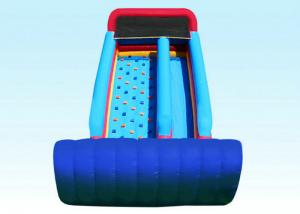 China 35 Feet Entertainment Large Blow Up Slide , Toddler Inflatable Water Side on sale