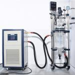 Wholesale double layer jacketed 100 liter glass reactor with optional explosion proof