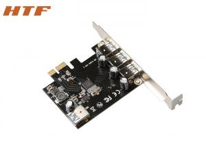 China VL805 Chip USB 3.0 (3+1) PCI Express Network Card PCI-E to usb3.0 Controller Card on sale