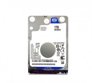 China Laptop Internal Computer Hard Disk Drive WD 2.5 1TB HDD 5400 RPM 128MB Cache on sale