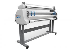 China Automatic Cold Laminating Machine With Linerless Film , Liner Film , Crystal Film on sale