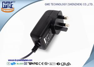 China 3PIN 12V 2A Universal AC DC Power Adapter for Acoustics , Fire retardant PC on sale