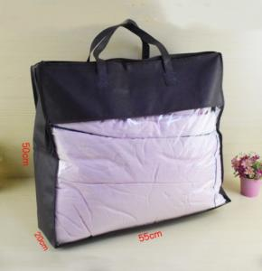 China Sewing PVC Packing Bag , PVC Quilt Bag / Pillow Bag For Bedding on sale