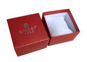 China Custom hot stamping Luxury unique paper watch gift box  on sale