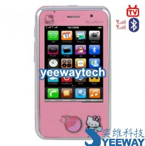 China HiPhone Yang Fan HK008 Dual SIM Card with Color TV & Bluetooth Phonr on sale