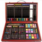 China Beven 79 Piece Studio Art & Craft Supplies Drawing and Painting Set in Wood Box wholesale