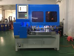 China VDE French Plug Insert Automatic Crimping Machine With ROHS Certification on sale