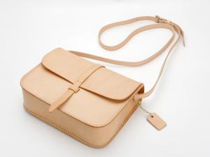 China Primary Colour Vegetable Tanned Leather Bag Womens Crossbody Handbags Wholesale on sale