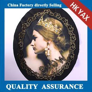 China fer de marque de la porcelaine YAX sur le pyrography de motif, fer de T-shirt sur le pyrography de motif avec les perles, jx0715 on sale