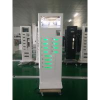 Android Based System Cell Phone Battery Charging Station Touch Screen With 12 Doors