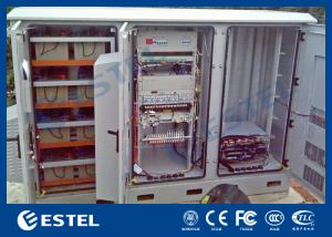China Multi Compartment BTS Outdoor Cabinet , Telecom Equipment Cabinet DDTE025 on sale
