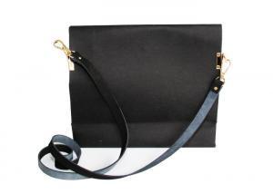 China Multipurpose Pure Color Washable Shoulder Bag Long Chain Paper Handbags For Women on sale