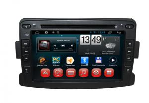 China 2 Din automobile navigation systems 1024 x 600 GPS with AM FM Radio RDS for Duster Logan Sandero on sale