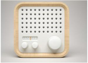 Quality Portable Stereo Wooden Bluetooth Speaker Music Sound Wireless Enhanced FM Radio for sale