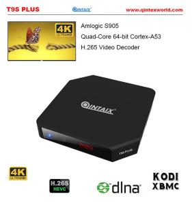 China QINTAIX /QINTEX Amlogic S905 Android 5.1 TV BOX 2GB/16GB Gigabit LAN WiFi Bluetooth 4.0 H.265 KODI Smart TV supplier
