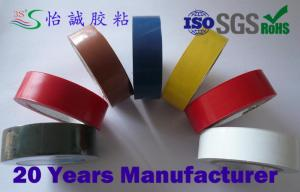 China Fixing / reinforcement PVC Electrical Insulation Tape of red / blue / green on sale