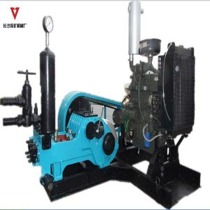 China Three Cylinder Hydraulic Impact Drilling Mud Pump / Reciprocating Plunger Pump on sale