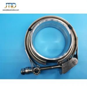 China High quality  Quick Release V band Clamp with Male and Female Flanges on sale