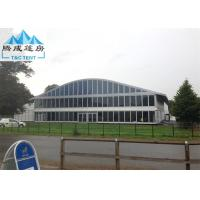 Outdoor Party Double Decker Tent , Aluminum Frame 20 X 40M  Party Tent Water Resistance