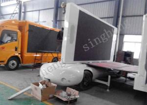 China Full Color P8 Mobile Trailer LED Display Video Playing Function Easy Installed on sale